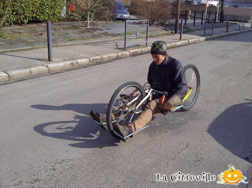 Création d'un prototype de Hand-Bike 2 roues 2015